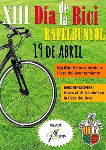 El peri�dico de aqu� -Cartel del Dia de la Bici de Rafelbunyol. EPDA