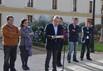 El peri�dico de aqu� -El alcalde, Juan Jos� Medina, en la lectura del manifiesto. EPDA
