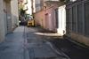 El peri�dico de aqu� -Las m�quinas trabajan en un de las calles. EPDA