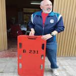 El peri�dico de aqu� -El bombero con la nueva tabla. EPDA