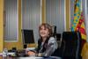 El peri�dico de aqu� -La alcaldesa de Picassent, Conxa Garc�a, en su despacho del Ayuntamiento. //PICASSENT