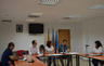 El peri�dico de aqu� -Pleno de constituci�n de la Mancomunitat con Carmen Mart�nez y Guillermo Luj�n. // EPDA