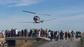 El peri�dico de aqu� -Demostraci�n con helic�ptero enmarcada en el Congreso Mundial de Mosquitos celebrado en Valencia