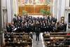 El peri�dico de aqu� -Imagen del concierto en la iglesia. EPDA