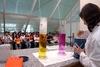 El peri�dico de aqu� -Imagen de uno de los experimentos. FOTO: GVA