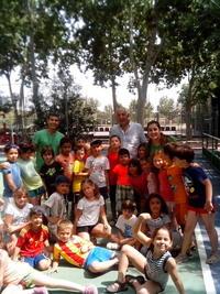 El peri�dico de aqu� -Ni�os en la escuela de verano de Massanassa. //EPDA