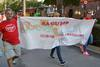 El peri�dico de aqu� -Integrantes de la PAH Morvedre en la cabecera de la manifestaci�n. EPDA