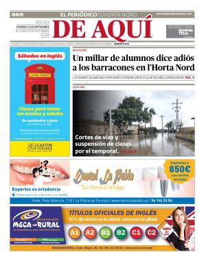 Horta Nord edición del 13 09 2019