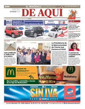 Horta Sud edición del 27 09 2019
