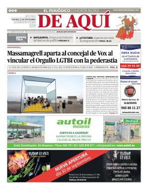 Horta Nord edición del 27 09 2019