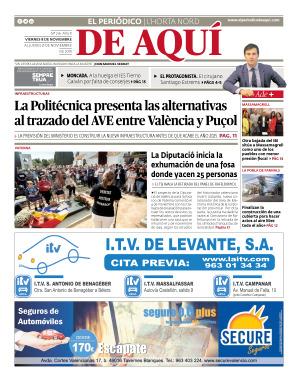 Horta Nord edición del 08 11 2019