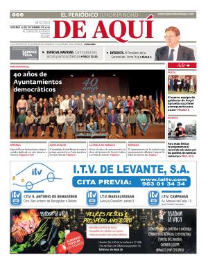 Horta Nord edición del 20 12 2019