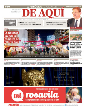 Horta Sud edición del 20 12 2019