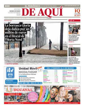 Horta Nord edición del 31 01 2020