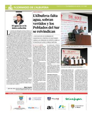 ESPECIAL JORNADAS ALBUFERA