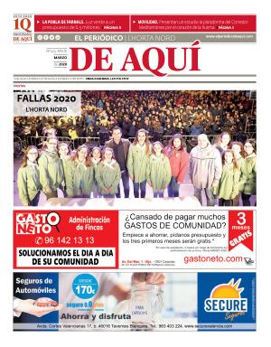 Horta Nord edición del 11 03 2020