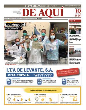 Horta Nord edición del 01 04 2020