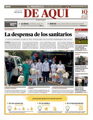 Horta Nord edición del 30 04 2020