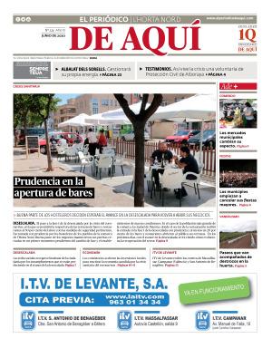 Horta Nord edición del 29 05 2020