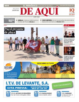 Horta Nord edición del 10 07 2020