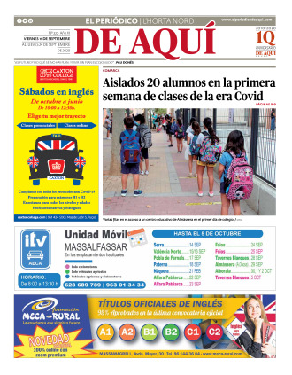 Horta Nord edición del 11 09 2020