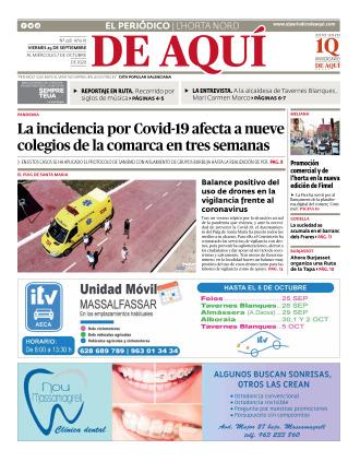 Horta Nord edición del 25 09 2020