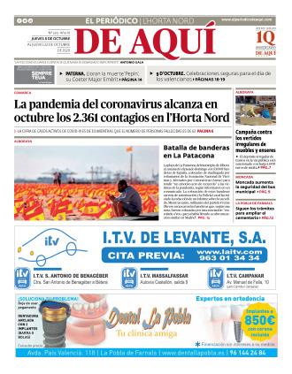 Horta Nord edición del 08 10 2020
