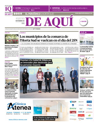Horta Sud edición del 27 11 2020