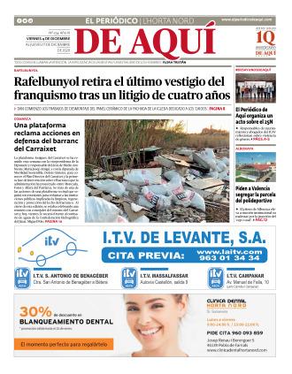 Horta Nord edición del 04 12 2020