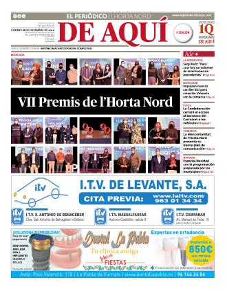Horta Nord edición del 18 12 2020