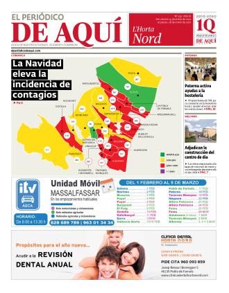 Horta Nord edición del 15 01 2021