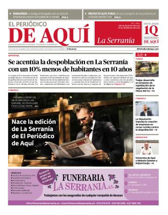 Serranía edición del 29 01 2021