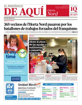 Horta Nord edición del 12 02 2021