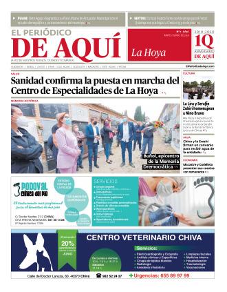 Hoya de Buñol edición del 28 05 2021