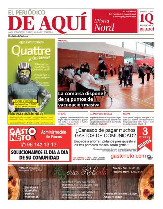 Horta Nord edición del 28 05 2021