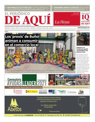 Hoya de Buñol edición del 06 08 2021