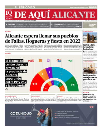 Provincia Alicante edición del 06 08 2021