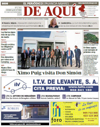 edición pdf 19 Octubre 2018 Palancia - Mijares