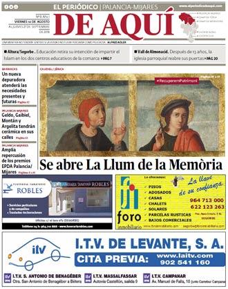 edición pdf 10 Agosto 2018 Palancia Mijares