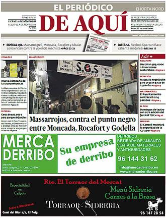 edición pdf 11 Noviembre 2016 Horta Nord