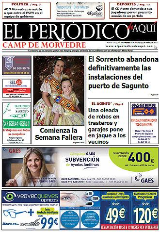 edición pdf 11 Marzo 2016 Camp de Morvedre