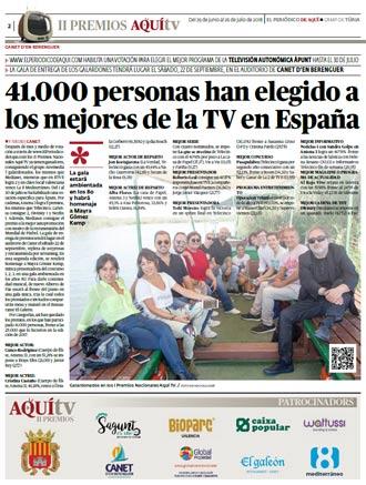 edición pdf Aquí TV 2018