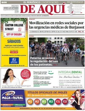 edición pdf 14 Septiembre 2018 Horta Nord