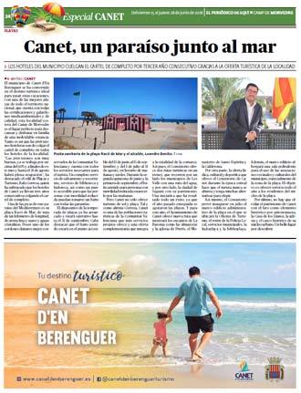 edición pdf 1 Junio 2018 Especial playas Canet de Berenguer