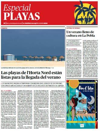 edición pdf 1 Junio 2018 Especial playas Horta Nord