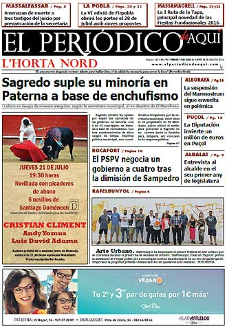 edición pdf 15 Julio 2016 Horta Nord