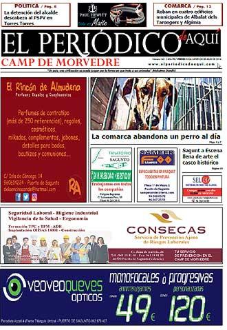 edición pdf 15 Julio 2016 Camp de Morvedre