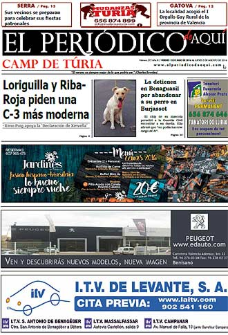 edición pdf 17 Junio 2016 Camp de Turia