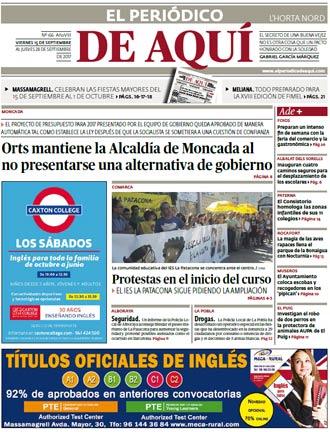 edición pdf 15 Septiembre 2017 Horta Nord