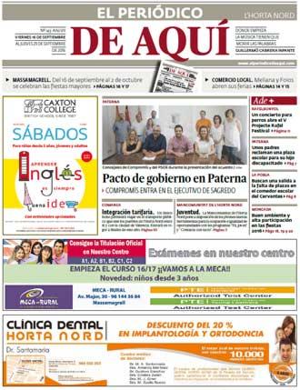 edición pdf 16 Septiembre Horta Nord